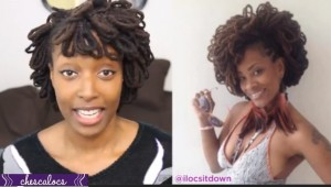 Loc Hairstyle Tutorial Petaled Loc Fro