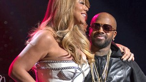 Mariah Carey ns Jermaine Dupri at the So So Def 20th Anniversary Concert at Fox Theatre